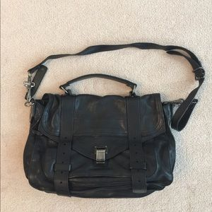Proenza Schouler PS1 Medium in Black